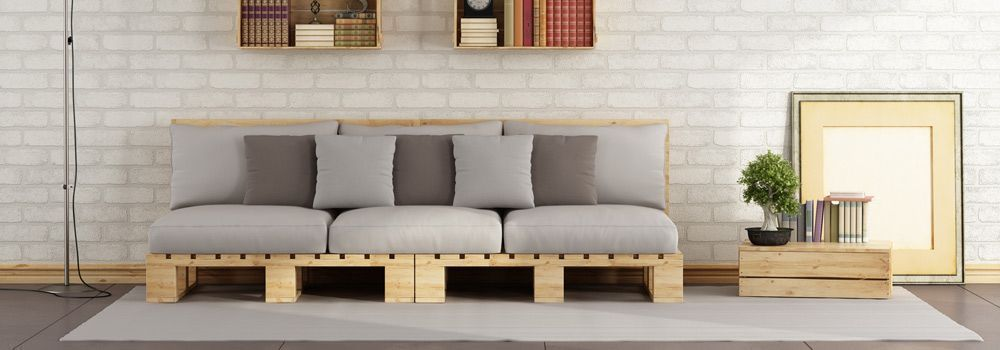 diy comment fabriquer un canap en palettes de bois cdiscount. Black Bedroom Furniture Sets. Home Design Ideas