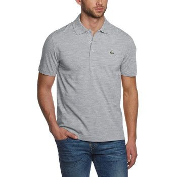 Polo Lacoste Homme gris