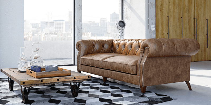 Le canapé chesterfield