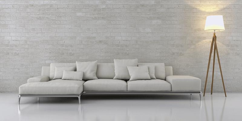 Le canapé contemporain