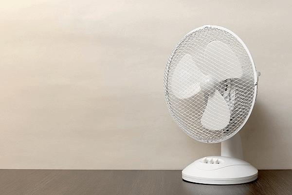 Le ventilateur sur socle