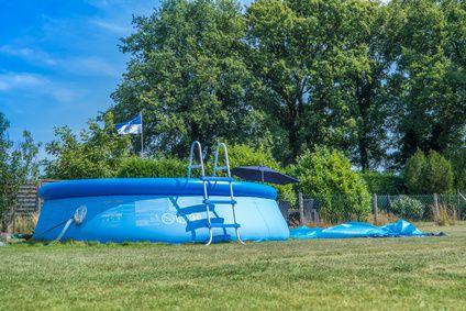 peut on enterrer une piscine hors sol cdiscount