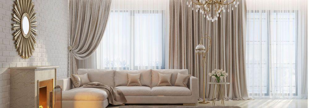 comment faire des rideaux de salon. Black Bedroom Furniture Sets. Home Design Ideas
