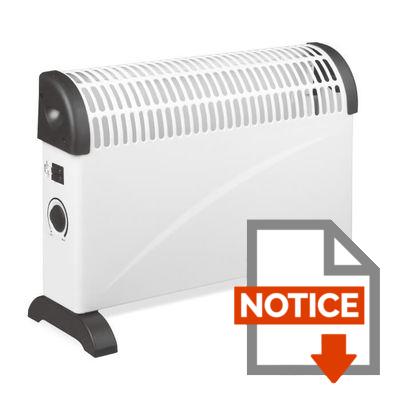 Notice OCEANIC Radiateur convecteur électrique mobile 200