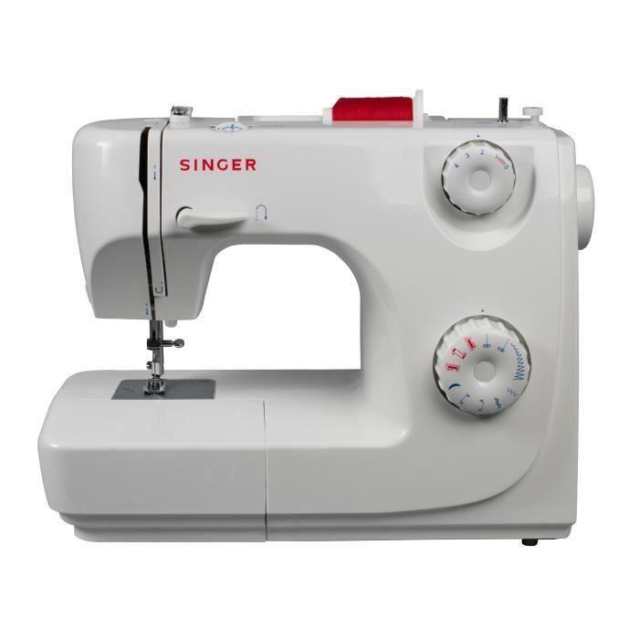 Macchina da cucire SINGER 8280 Standard - 16 punti - 6 artigli - Bianca