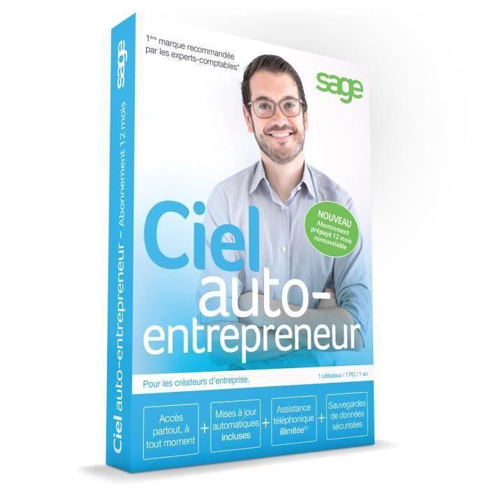 Ciel Auto-imprenditore (abbonamento di 12 mesi)
