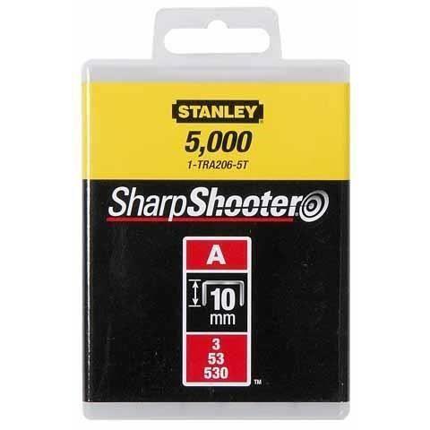 STANLEY Graffe 10mm tipo A 1000 pezzi