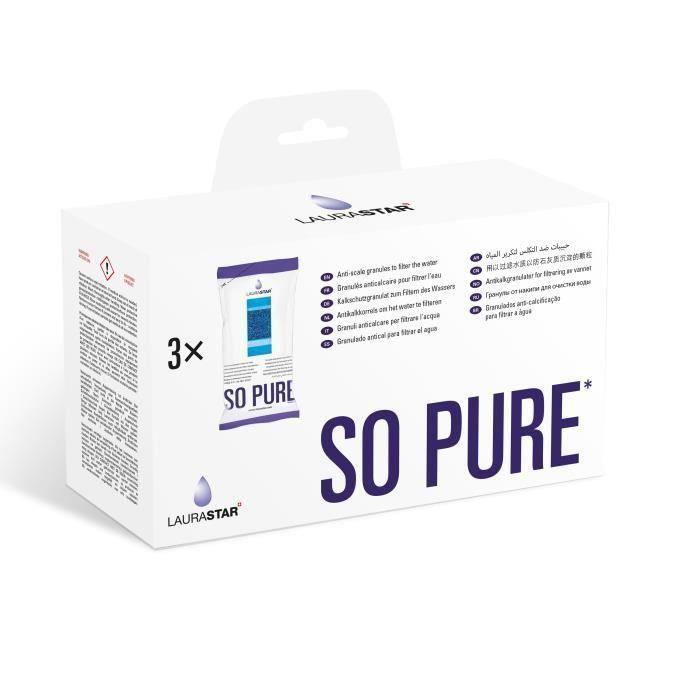 LAURASTAR 3 confezioni di granuli anticalcare Aqua Refill