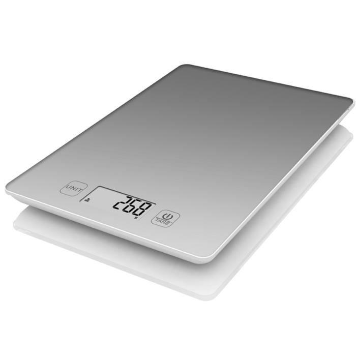 TERRAILLON bilancia elettronica da cucina 3kg grigia