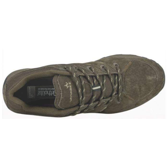 WANABEE Chaussures de randonnée Travel Lther 300 Low - Homme