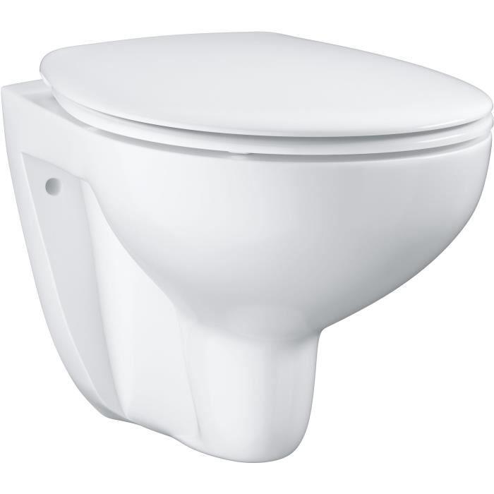 Besole000 Pack WC suspendu Bau Ceramica