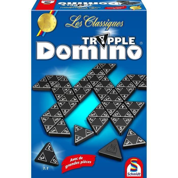 SCHMIDT E SPIELE Gioco da tavolo - The Classics - Tripple Domino - Linea Classic
