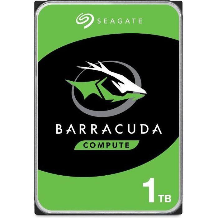 SEAGATE - Disco rigido interno - BarraCuda - 1 TB - 7.200 rpm - 3,5 \