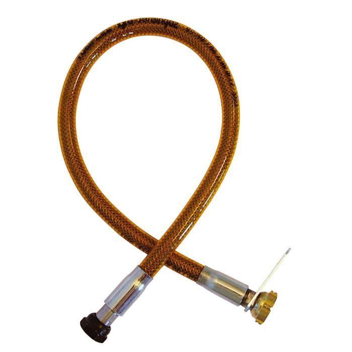 DIPRA Staffa in acciaio inox ad alta pressione NF 70cm - Dado / dado bottiglia 20/150
