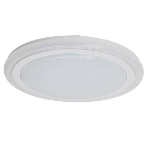 BRILLANT Plafoniera Tizian - Metallo - LED 22W - Plastica bianca