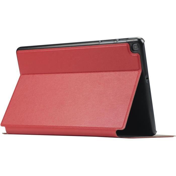 Mobilis Coque de protection Étui Folio pour Samsung Galaxy Tab A 2019 10,1'' - Rouge