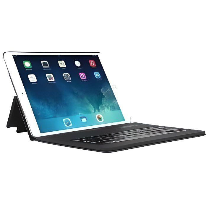 Mobilis Coque de protection Étui Folio pour iPad Air 10,5'' (2019 / iPad Pro 10,5''' avec Clavier français Bluetooth - Noir
