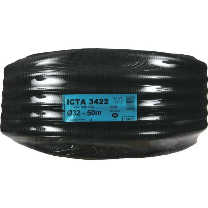 JANOPLAST ICTA guaina con estrattore filo / lubrificata - Diametro 32 mm - 50 m
