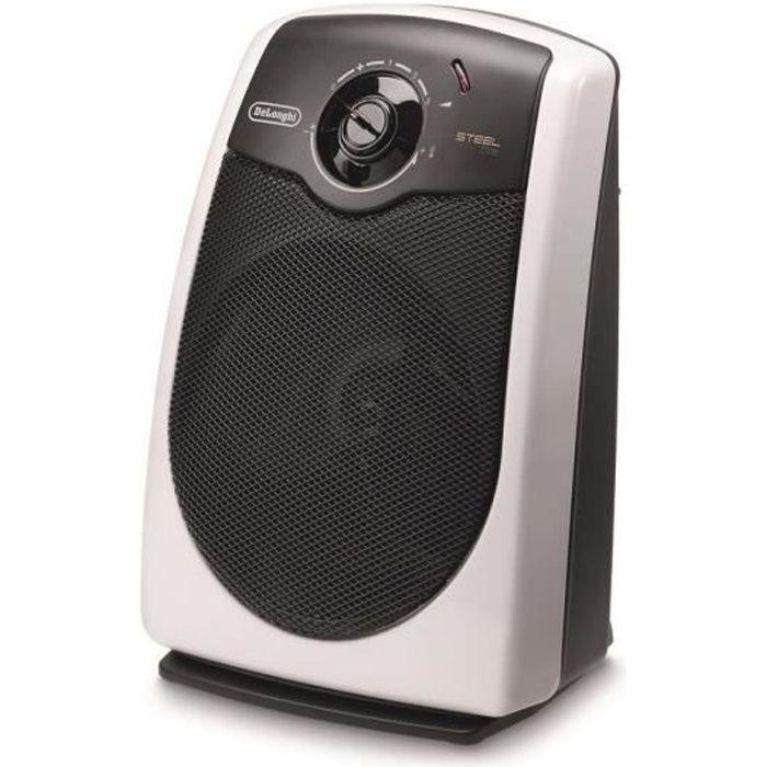 DELONGHI HVS3031 2200 watt Termoventilatore mobile - Ventilatore - 3 potenze - Sistema silenzioso