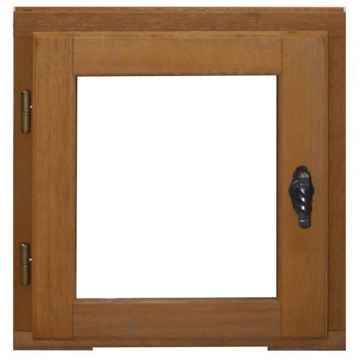 Finestra 1 anta legno esotico Altezza 45 X Larghezza 40 MANIGLIA SINISTRA (dimensioni tavolo)