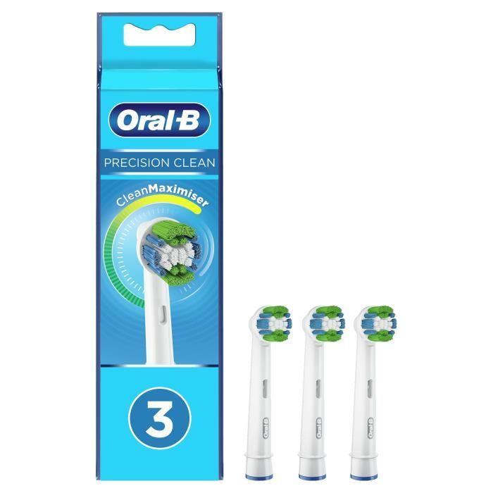 Testina pulita di precisione Oral-B con CleanMaximiser, 3