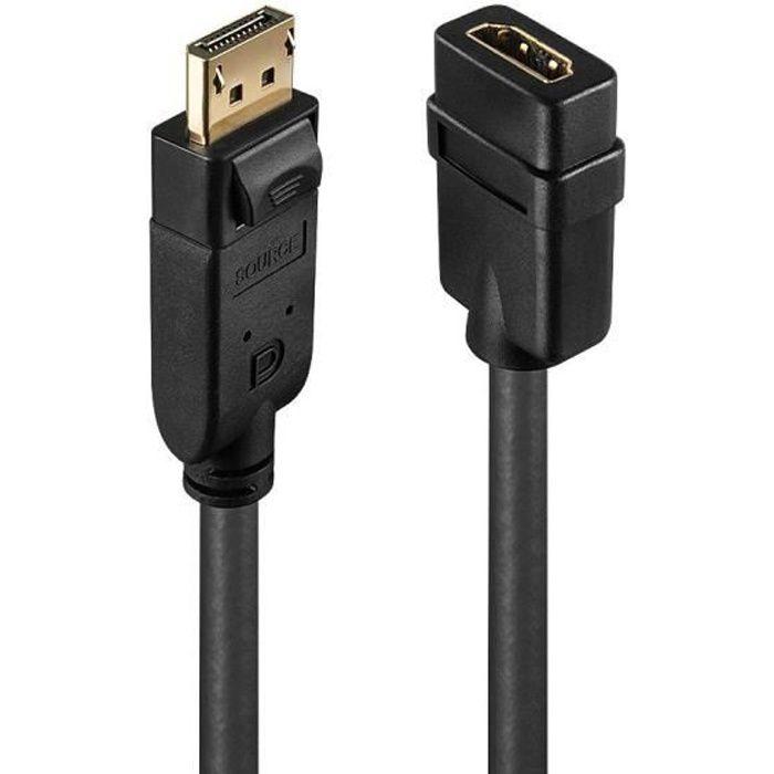 LINDY Convertitore passivo da DisplayPort a HDMI