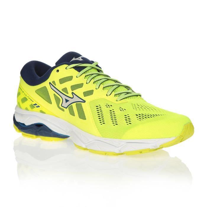 MIZUNO Chaussures de running WAVE ULTIMA 11 - Homme - Jaune