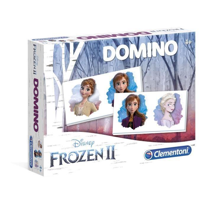 CLEMENTONI Domino - The Snow Queen 2 - Gioco educativo