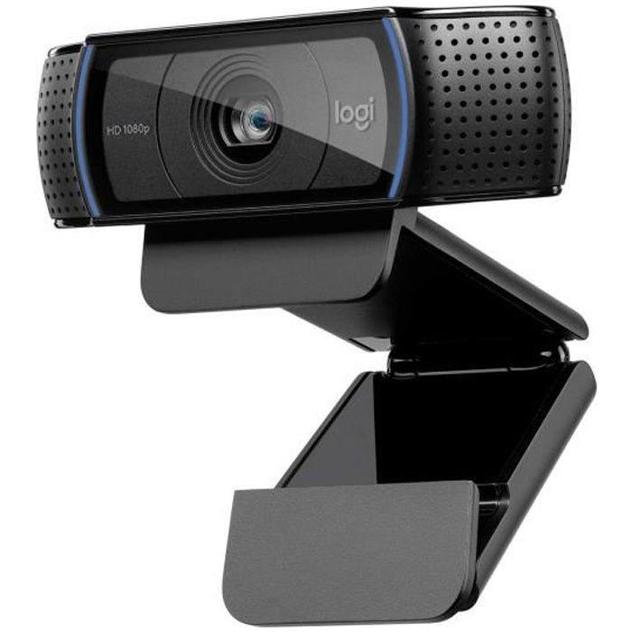 LOGITECH Webcam HD Pro C920 Aggiorna - Microfono incorporato - FaceTime ideale e Skype