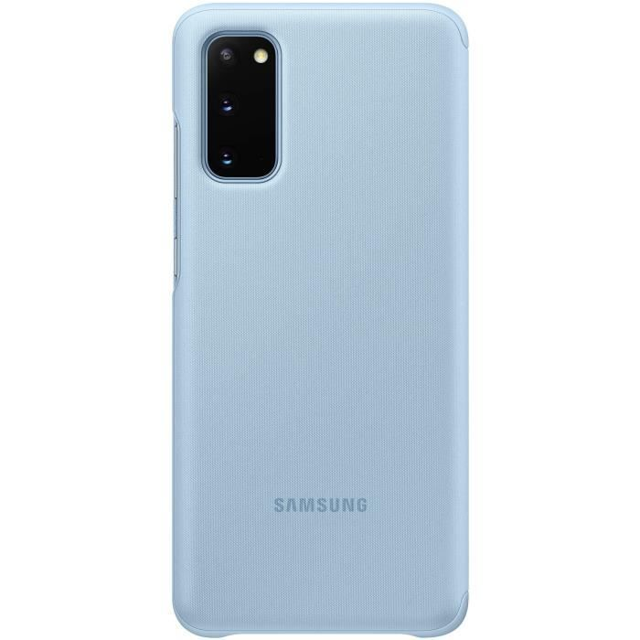 Clear View cover S20 Blue