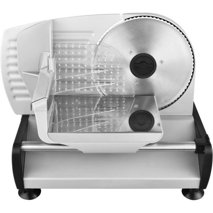 Affettatrice KALORIK TKGAS1003 - 150 W - Lama in acciaio inox - Regolazione fetta da 0 a 15 mm