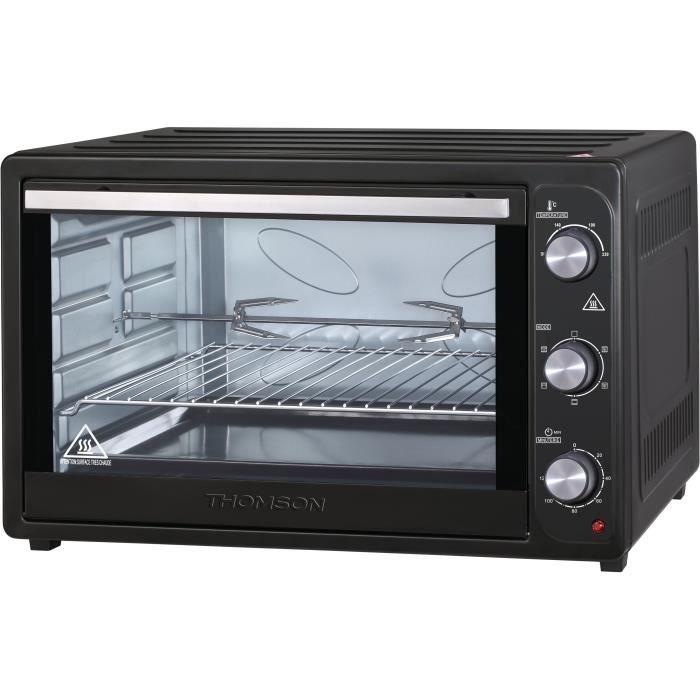 THOMSON THEO985MB Forno elettrico multifunzione - 85 L - Ventola e grill - 2200 W - Porta con doppio vetro