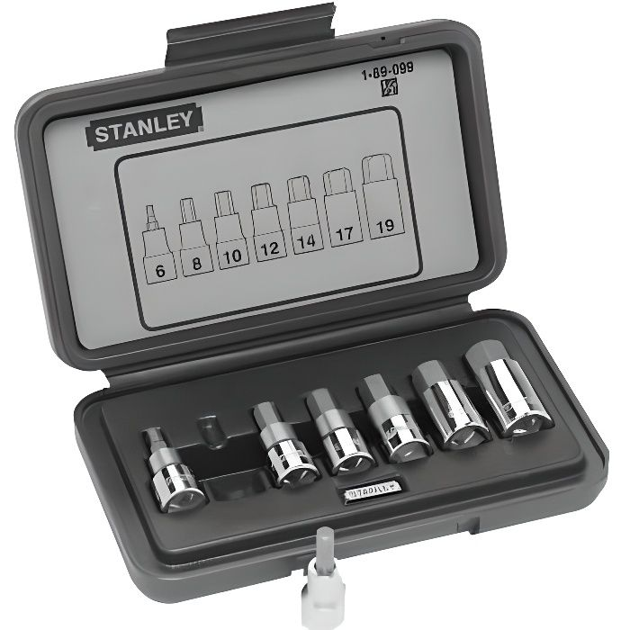 STANLEY 9 Torx socket 1/2