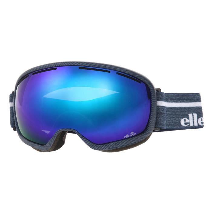 ELLESSE Masque de ski Aquila GGL Denim - Homme - Bleu