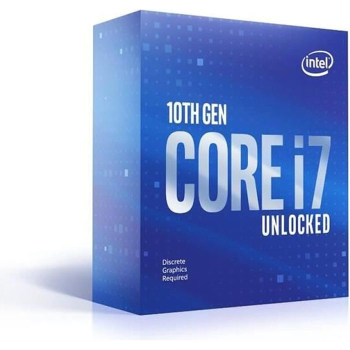 Processeur Intel Core i7-10700KF (BX8070110700KF) Presa LGA1200 (chipset Intel serie 400) 125W