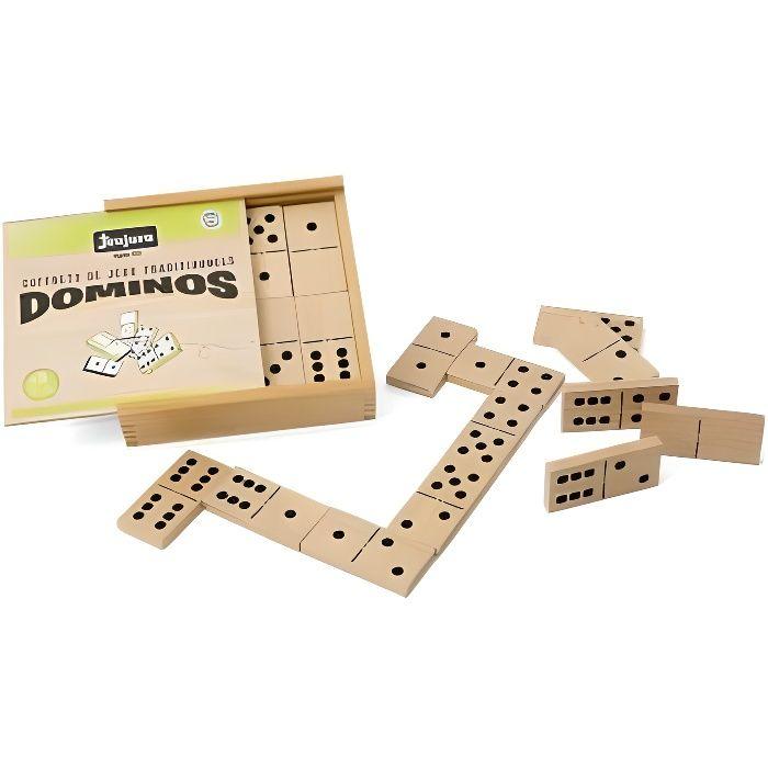 Grande gioco di domino di legno