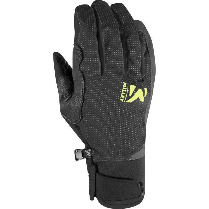 MILLET Gloves Touring - Uomo - Nero