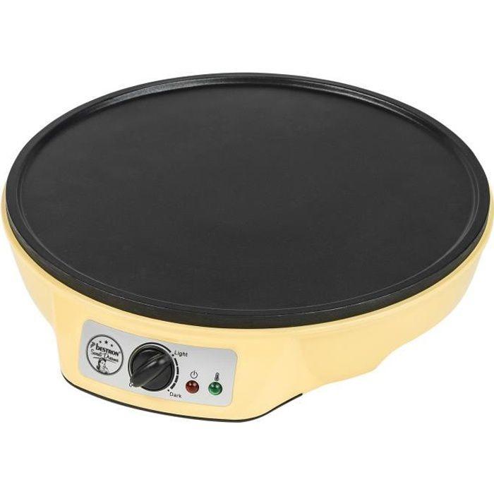 BESTRON ASW602 Crepiera elettrica - Giallo pastello