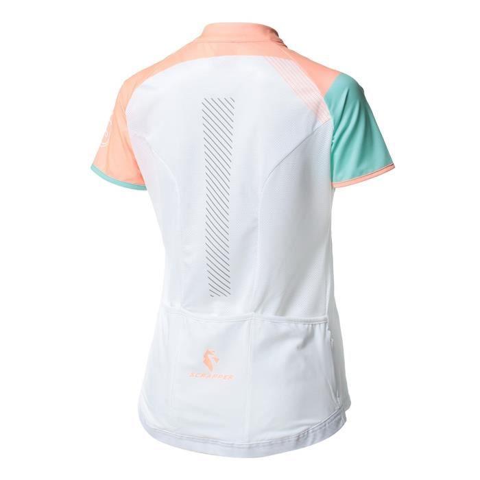 SCRAPPER Maillot de cyclisme Scr Lady Tmc - Femme - Blanc