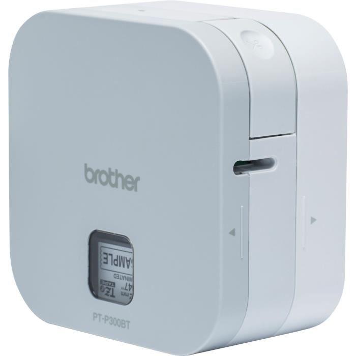 L'etichettatrice compatta BROTHER Cube PT-P300BT P-Touch si collega facilmente a smartphone e tablet fino a 12 mm