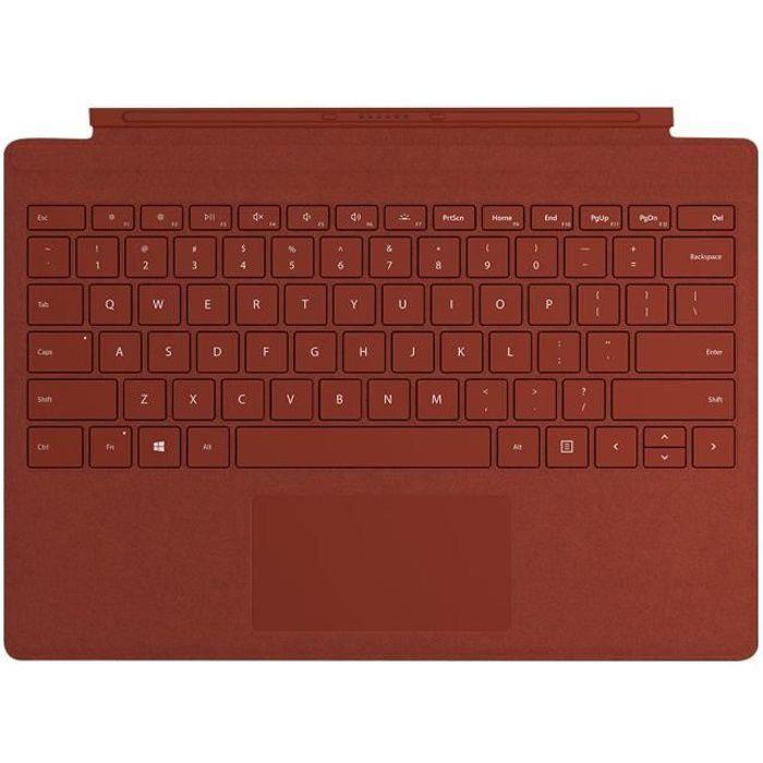 Tastiera Surface Cover Pro di tipo Microsoft Surface Signature - Rossa