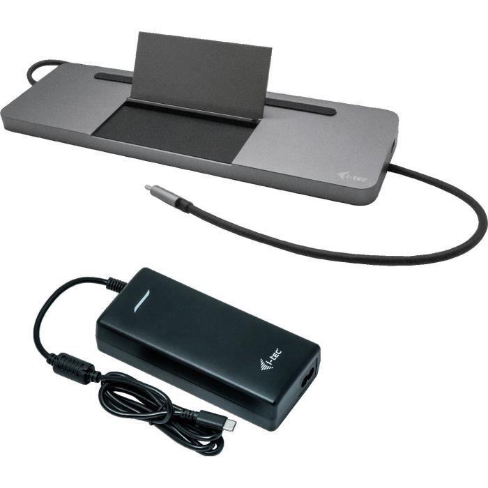 i-tec - Docking station USB-C con adattatore di alimentazione universale -