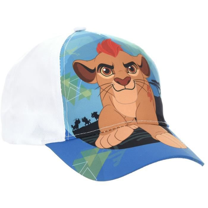 KING LION Cappello sublimato bianco