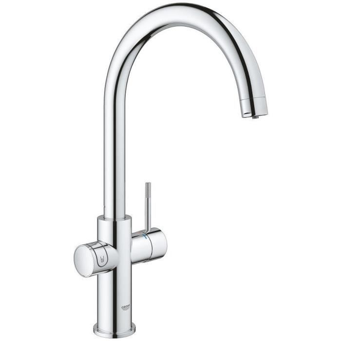 GROHE Starter kit con miscelatore canna C Blue Home 31455001