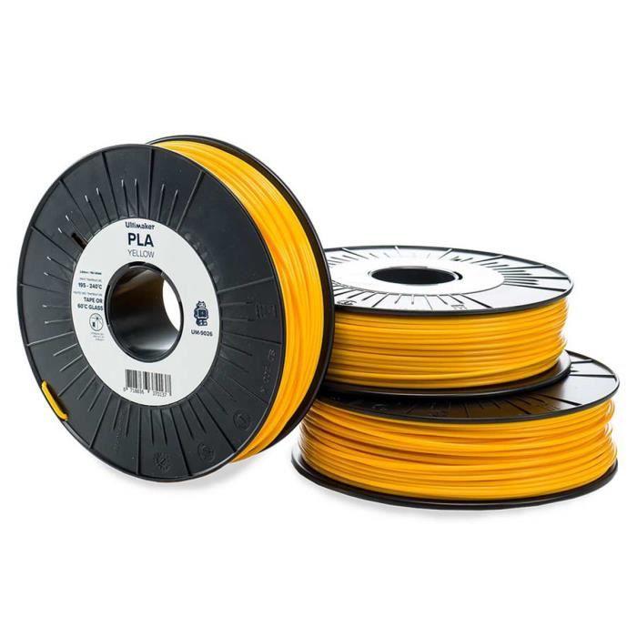 Cartuccia a filamento PLA Ultimaker - 2,85 mm - Giallo - 750 g