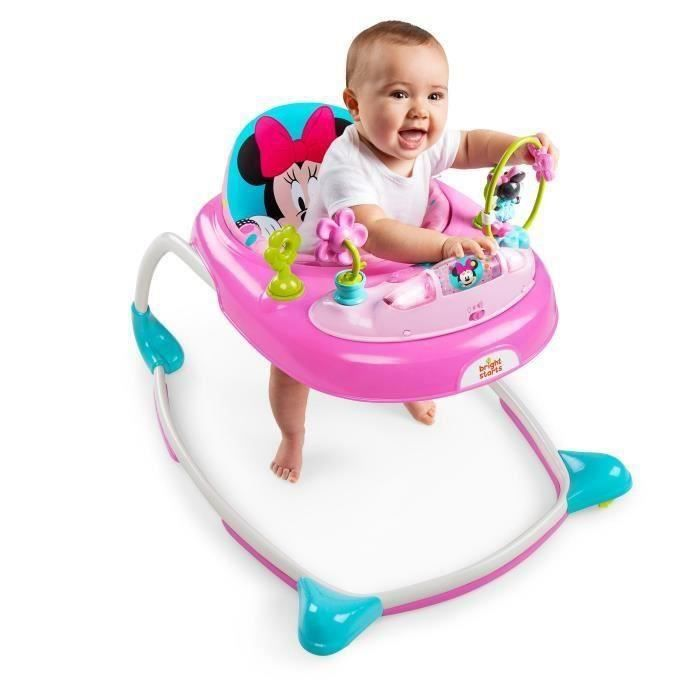 Trotteur Player Peek-A-Boo Minnie - Lumineux et sonores - DISNEY BABY