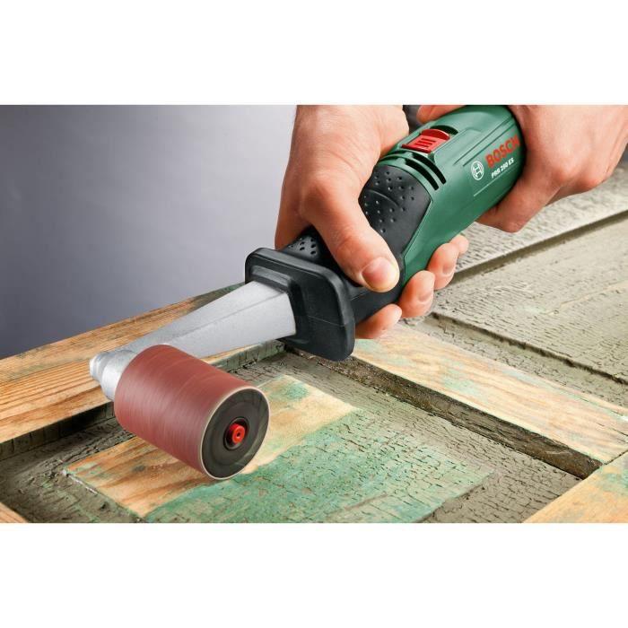 Manchon abrasif Bosch (Grain 120, Largeur Rouleau 60mm, Accessoire pour Texoro)