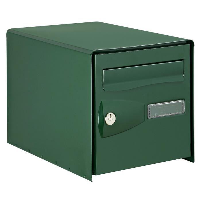 DECAYEUX Cassetta delle lettere Eolys bifacciale verde ral 6005