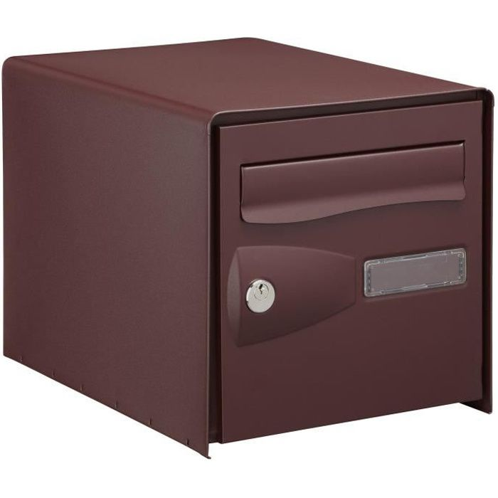 DECAYEUX Cassetta delle lettere Eolys bifacciale rosso ral 3007