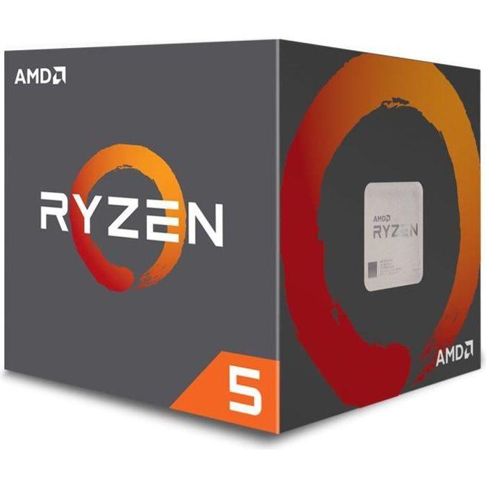AMD Processeur Ryzen 5 2600 - ventiard Wraith Stealth - YD2600BBAFBOX